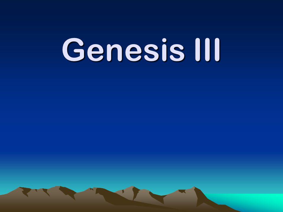 Genesis III