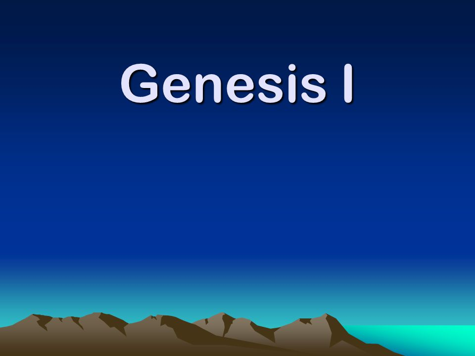For centuries Genesis was accepted as the only account of creation.