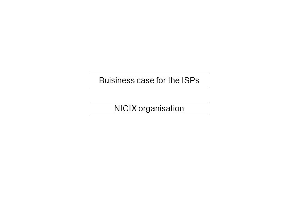 NICIX-organisation is headed by the ISP association in Nicaragua BOARD of AIN The ISP association of Nicaragua Manager of NICIX ISP  NICX managed by a manager directly under the board of AIN Source:Team analysis