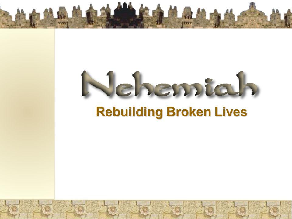 Rebuilding Broken Lives
