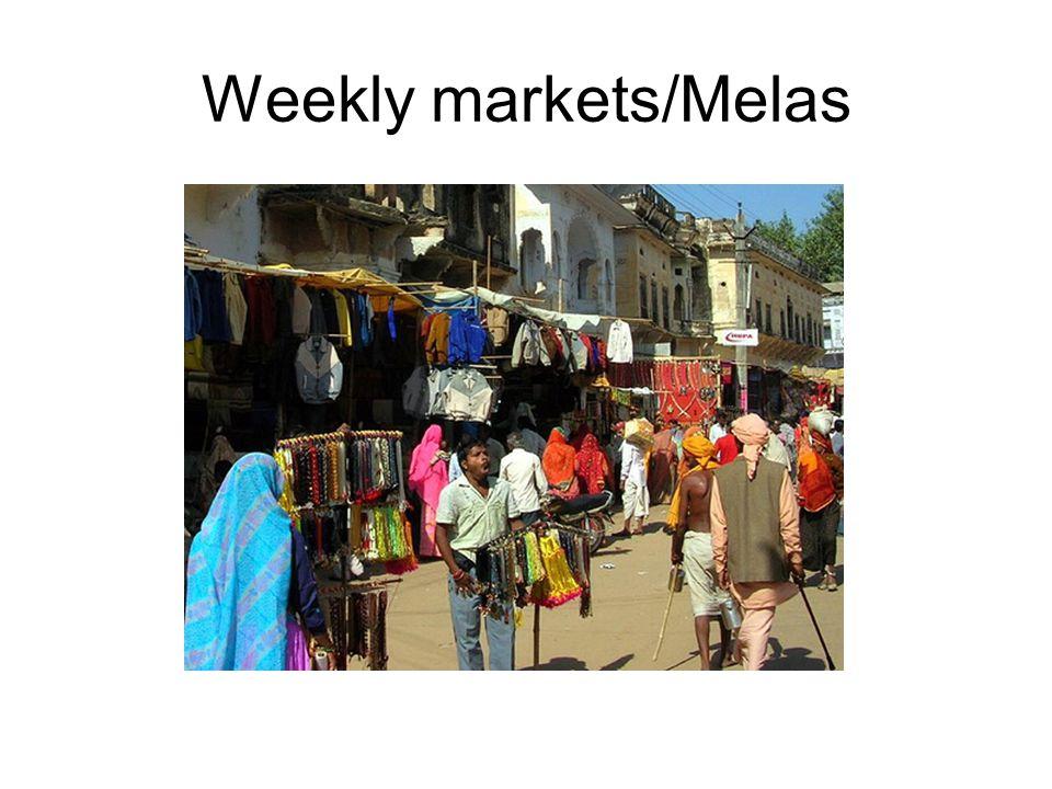 Weekly markets/Melas