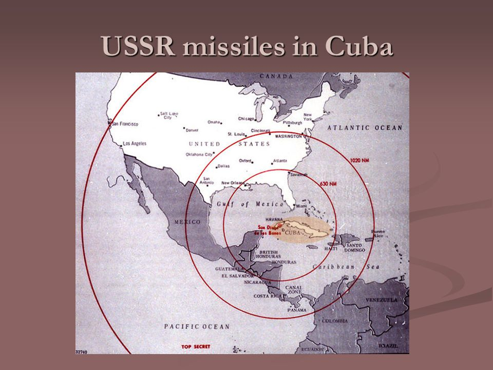 USSR missiles in Cuba