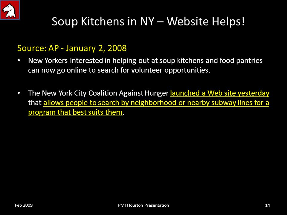 Soup Kitchens in NY – Website Helps.