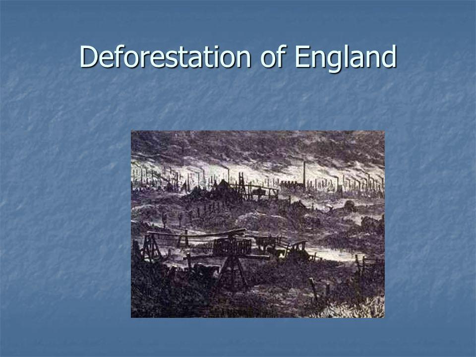 Deforestation of England
