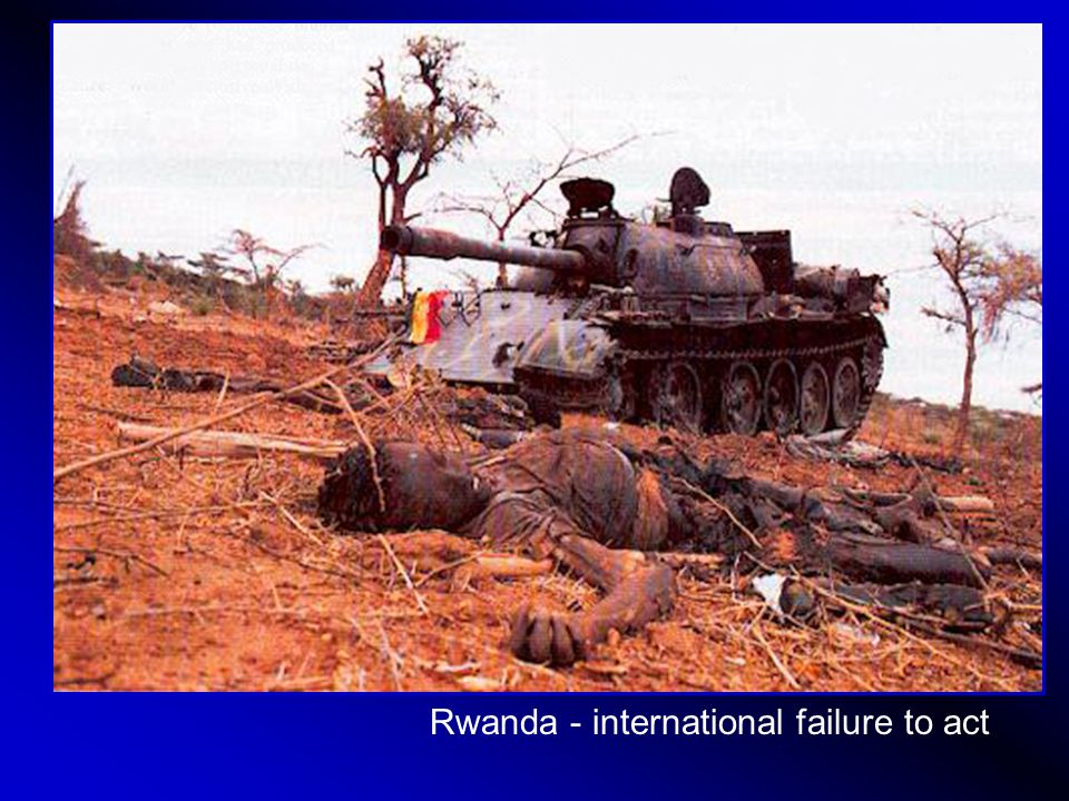 Rwanda - international failure to act