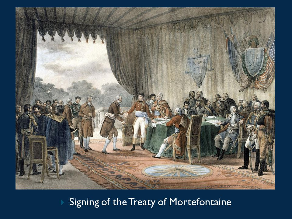  Signing of the Treaty of Mortefontaine