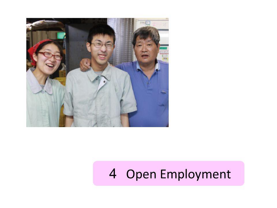 4 Open Employment