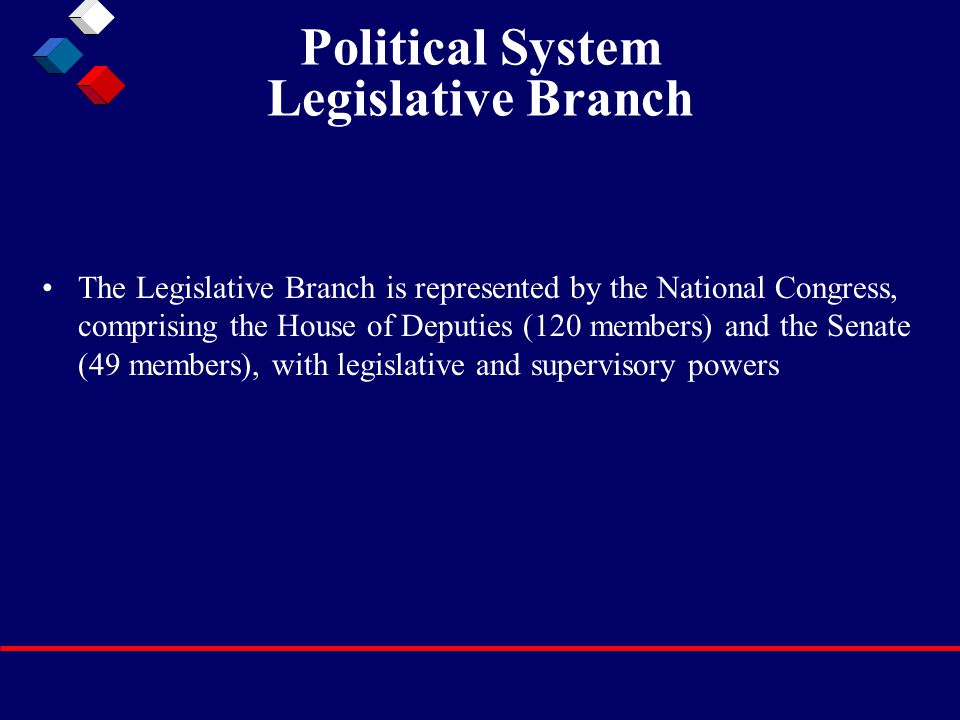 Political System Judicial Branch The Judiciary is independent of the other powers of state.