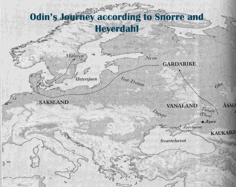 Utenriksdepartementet Odin's Journey according to Snorre and Heyerdahl