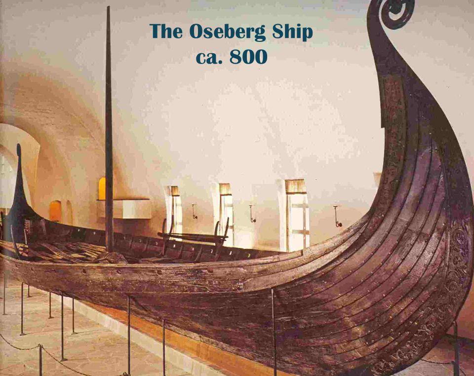 Utenriksdepartementet The Oseberg Ship ca. 800