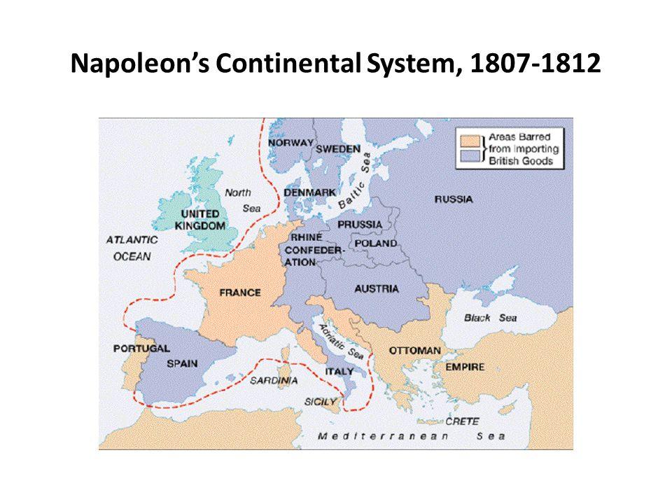 Napoleon's Continental System, 1807-1812