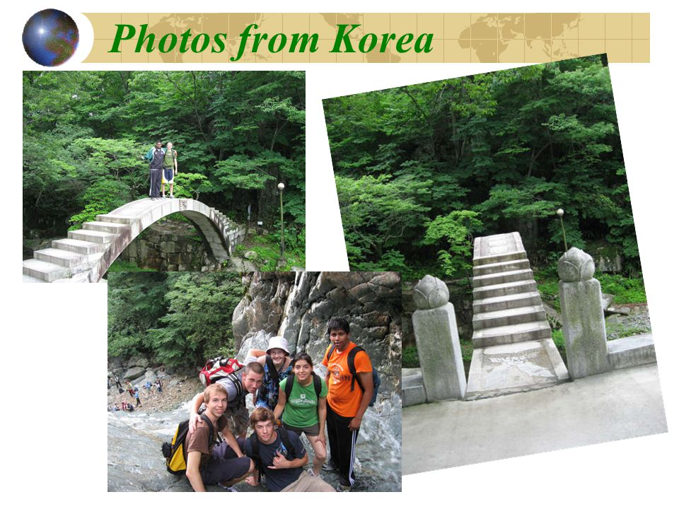 Photos from Korea