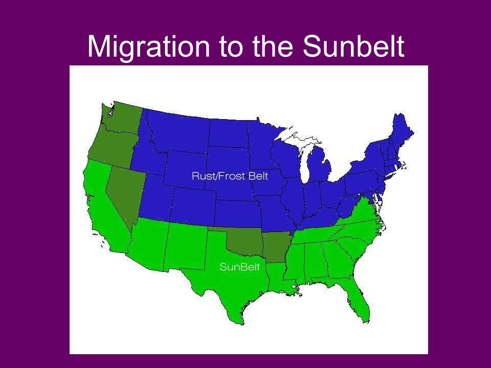 Migration to the Sunbelt