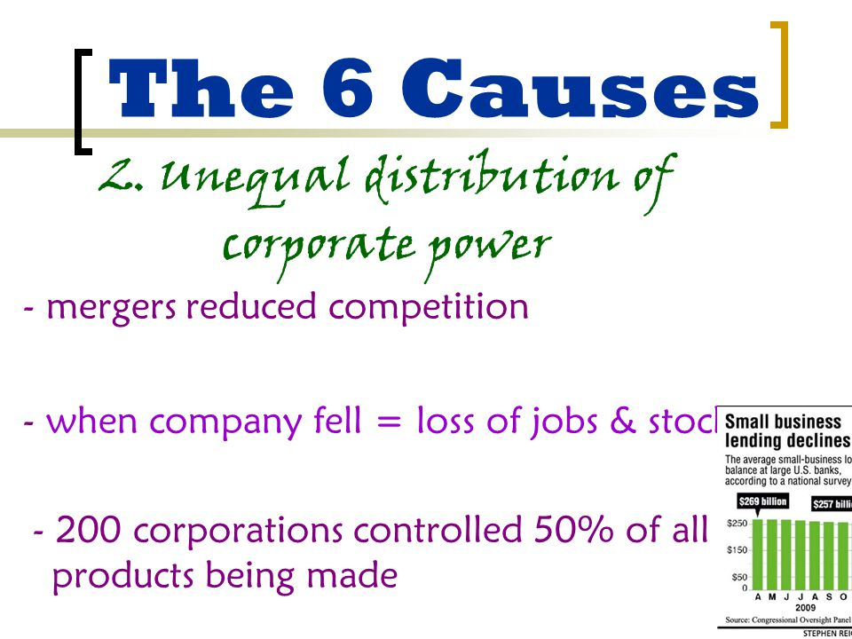 The 6 Causes 2.