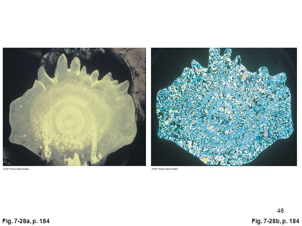 Fig. 7-28a, p. 184Fig. 7-28b, p. 184 46