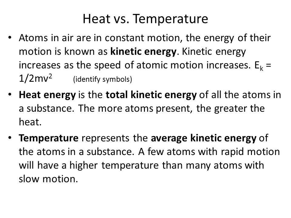Heat vs.