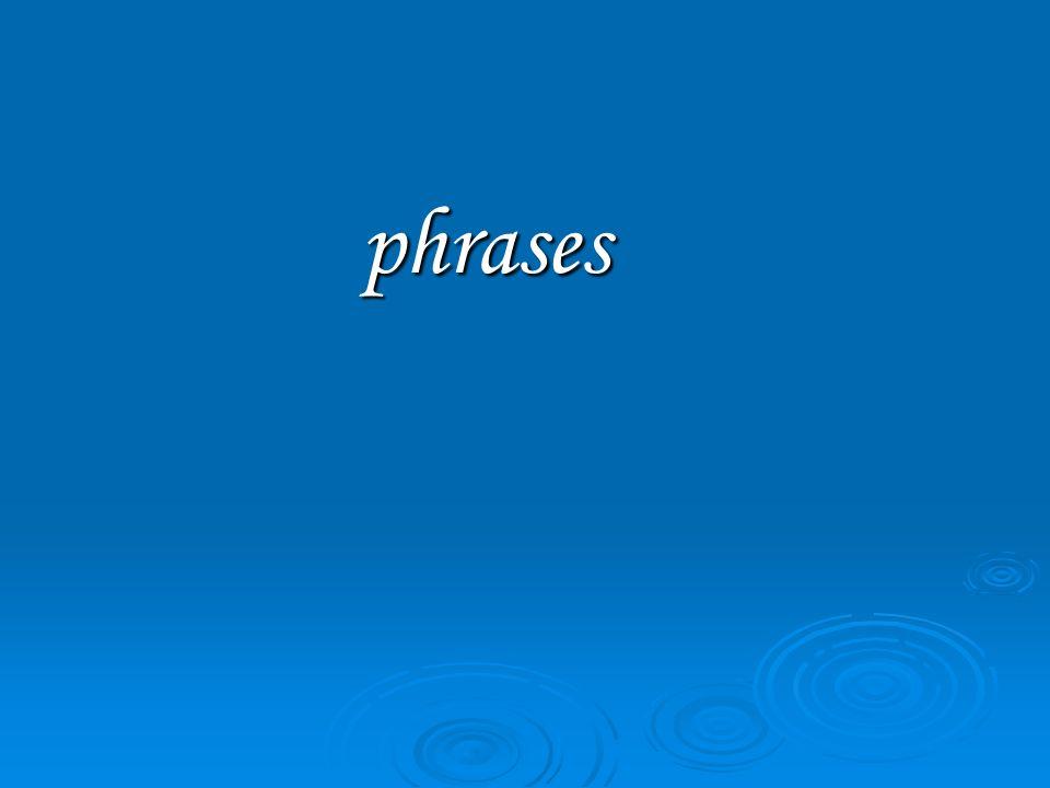 phrases phrases