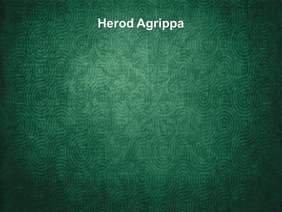 Herod Agrippa