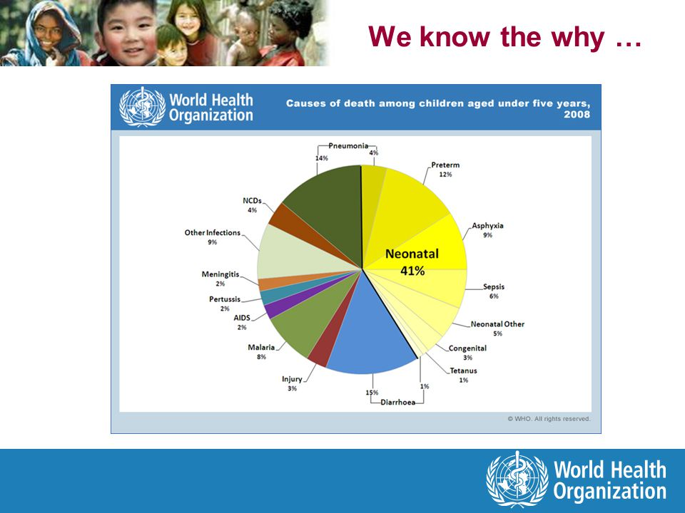 Maternal mortalityUnder-5 mortality Malaria in the WorldHIV Global burden And working together