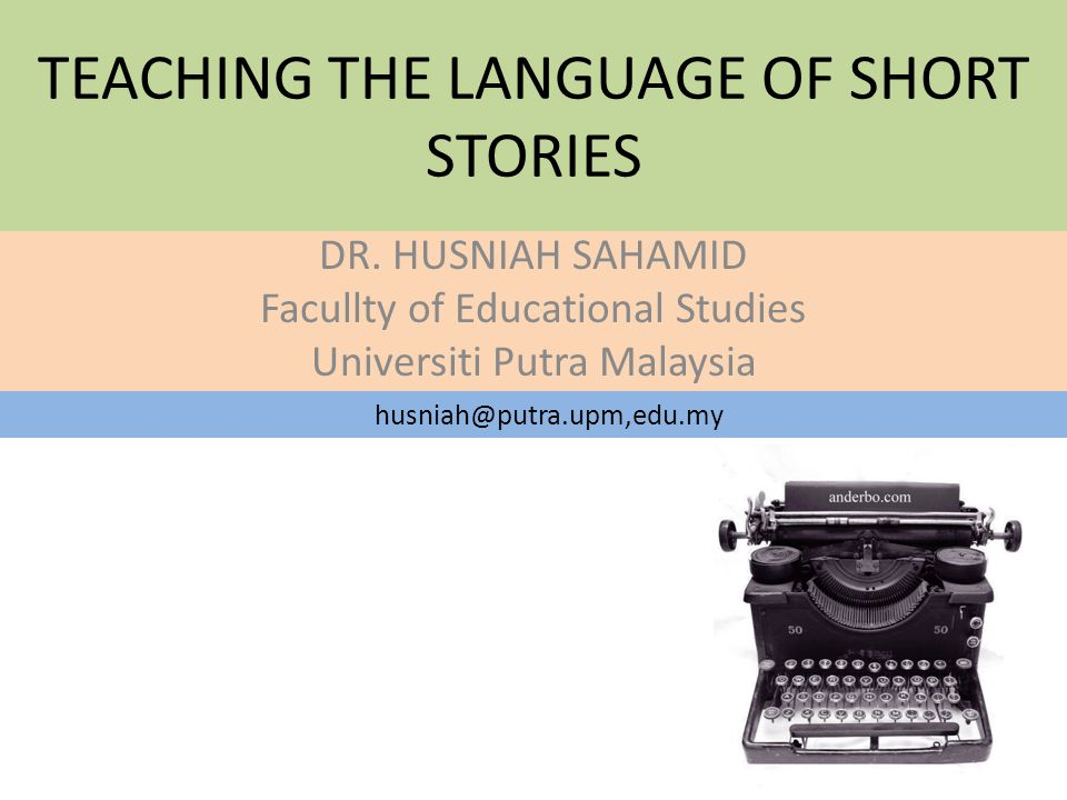 What can you tell me about the 'Short Story'?