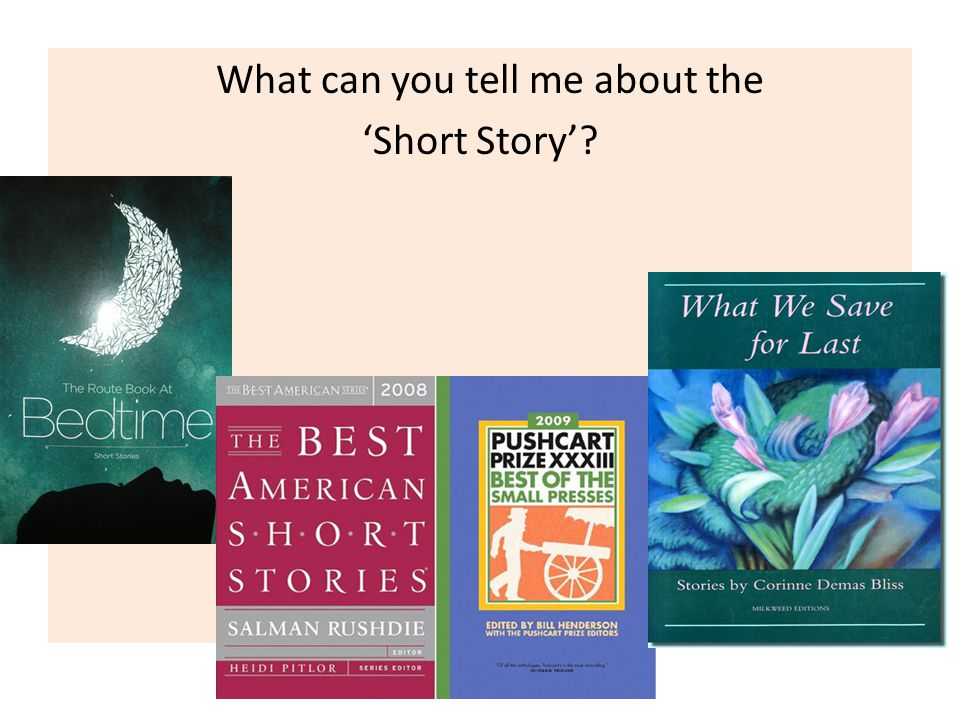 What can you tell me about the 'Short Story'