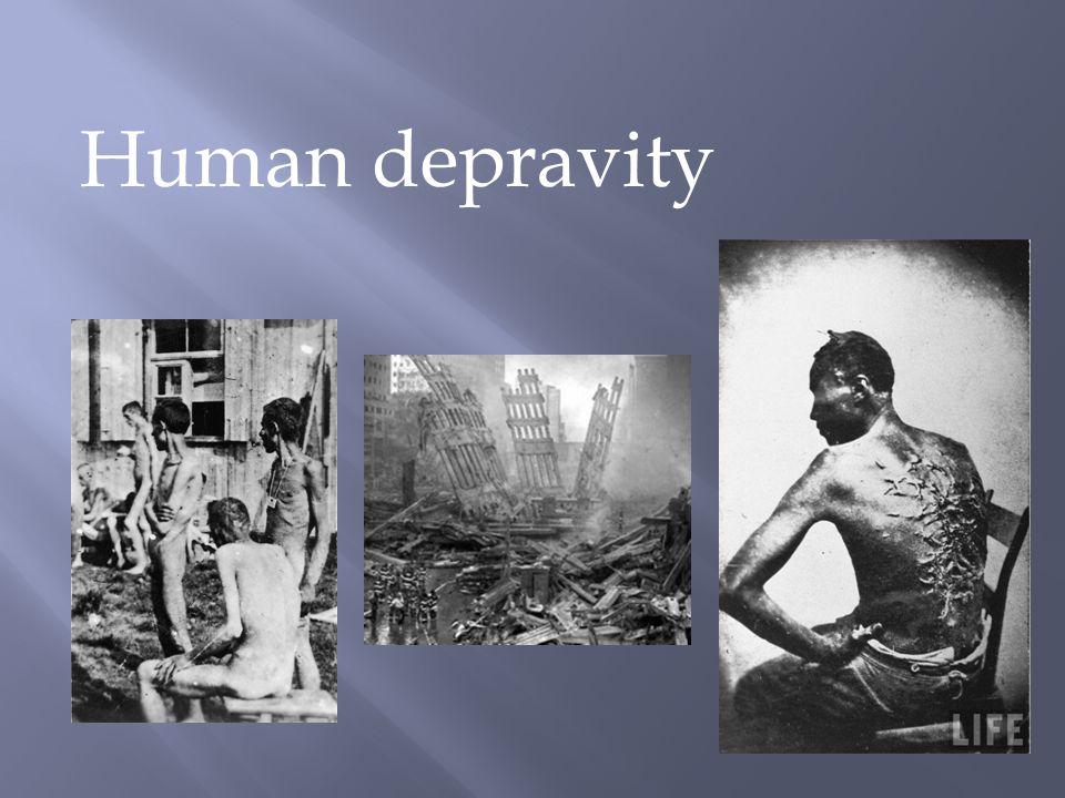 Human depravity