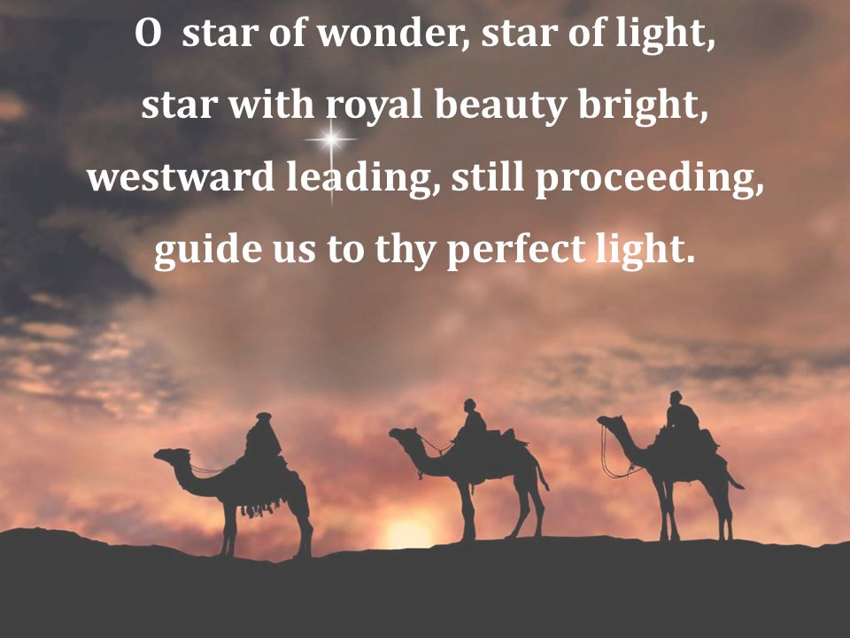 Born a King on Bethlehem's plain, gold I bring to crown him again, King forever, ceasing never, over us all to reign.