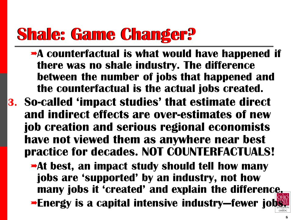 Shale: Game Changer?--#3 cont.