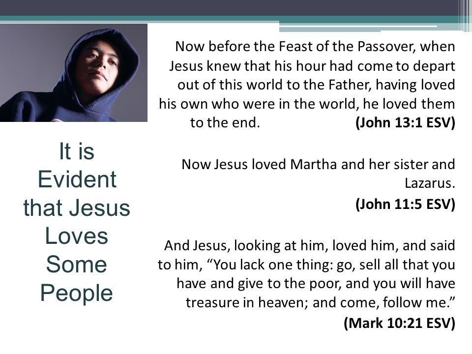 Now before the Feast of the Passover, when Jesus knew that his hour had come to depart out of this world to the Father, having loved his own who were in the world, he loved them to the end.