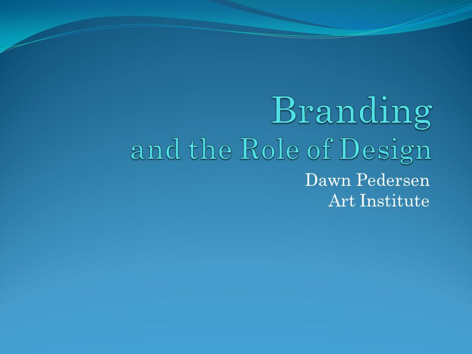 What Is the Role of the Designer in Branding.