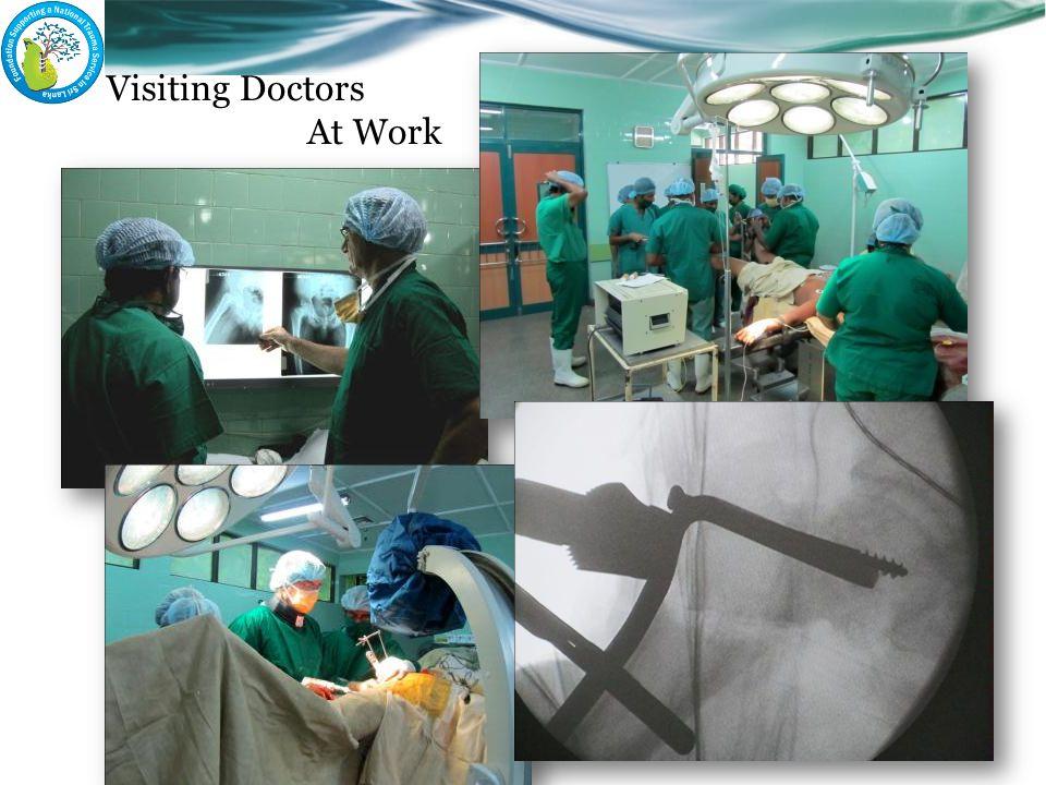 Visiting Doctors At Work