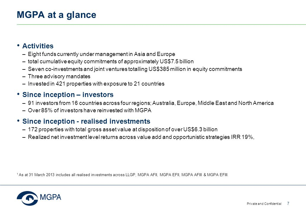 Asia – the growth engine Private and Confidential 38 Source: Prudential Real Estate Investors Forecasted Size of Real Estate (US$ tn) Asia Pacific is expected to become the largest real estate market in the world by 2021 China will contribute the most to the global growth of CRE Contributions to global growth of CRE