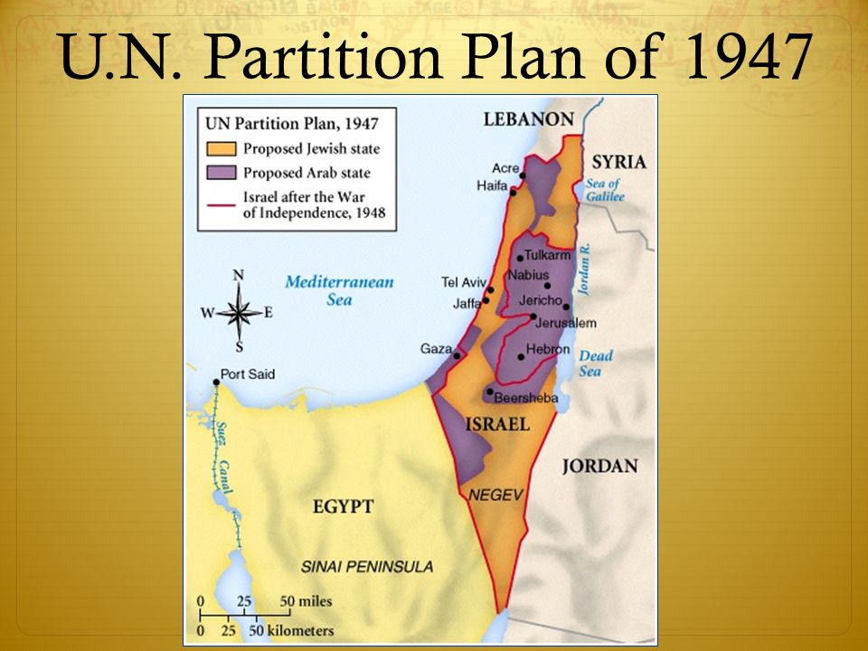 U.N. Partition Plan of 1947