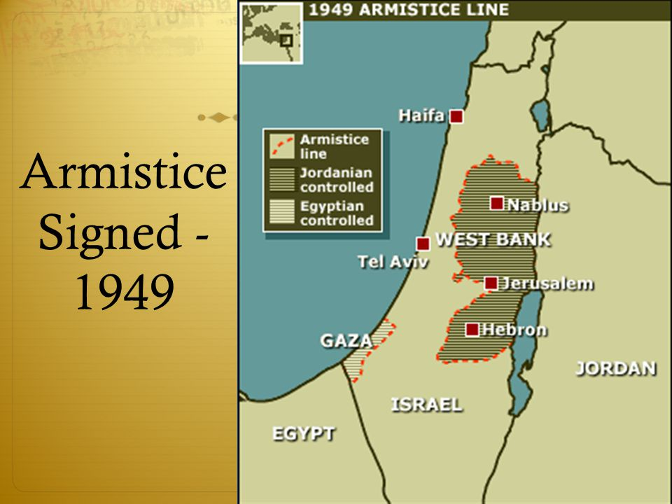Armistice Signed - 1949