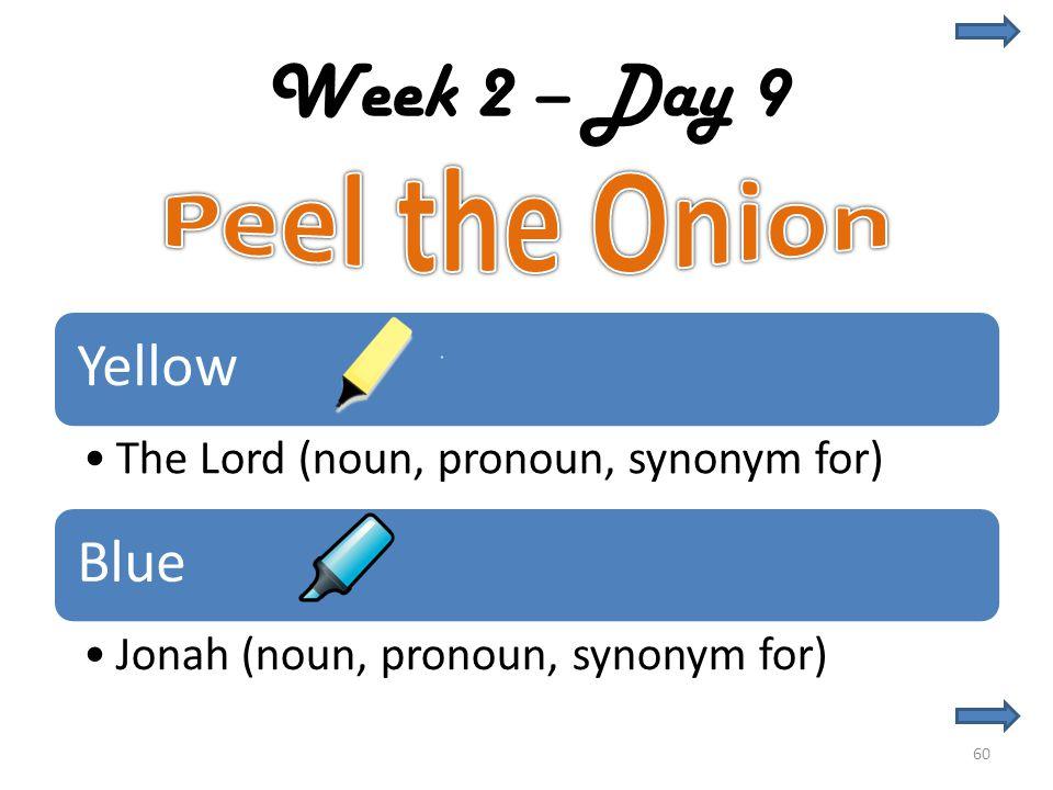 Week 2 – Day 9 60