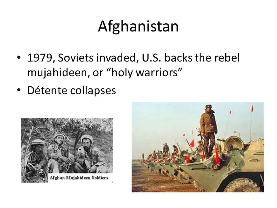 Afghanistan 1979, Soviets invaded, U.S.