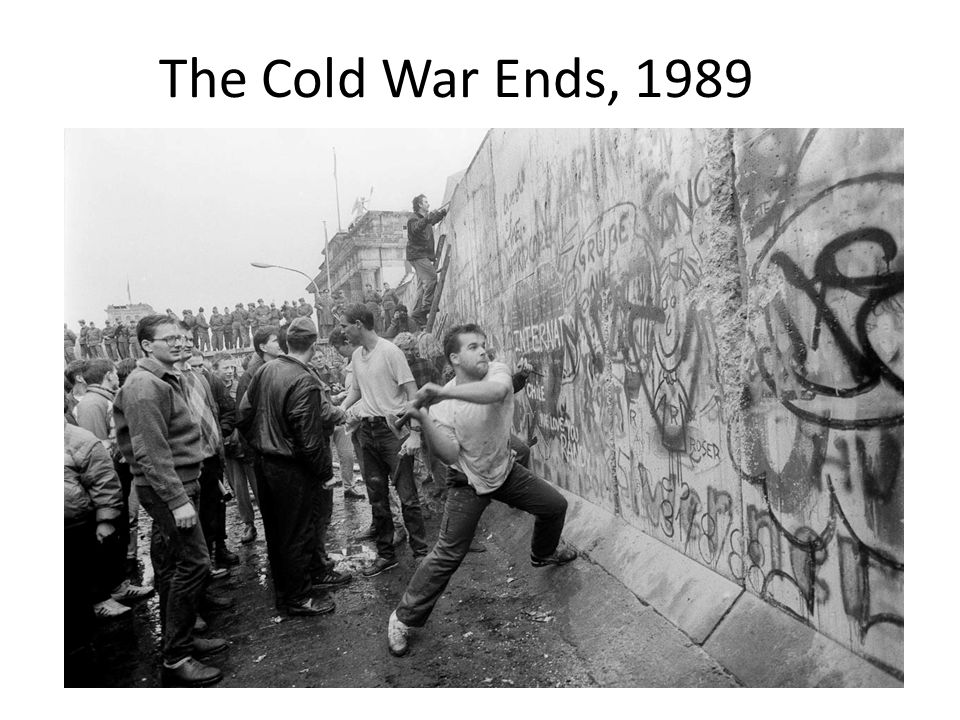 The Cold War Ends, 1989