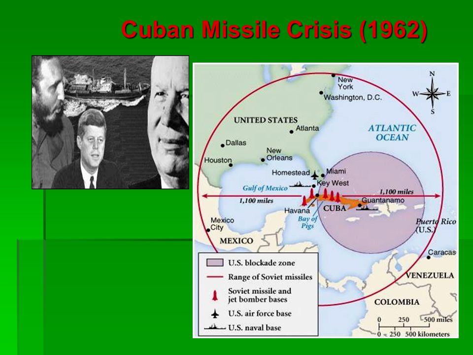 Cuban Missile Crisis (1962)
