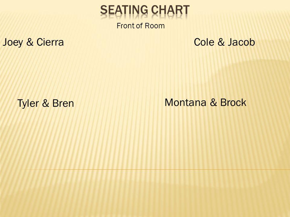 Joey & CierraCole & Jacob Montana & Brock Tyler & Bren Front of Room