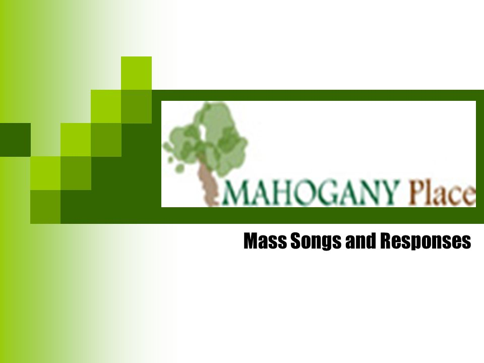 Mass Songs and Responses