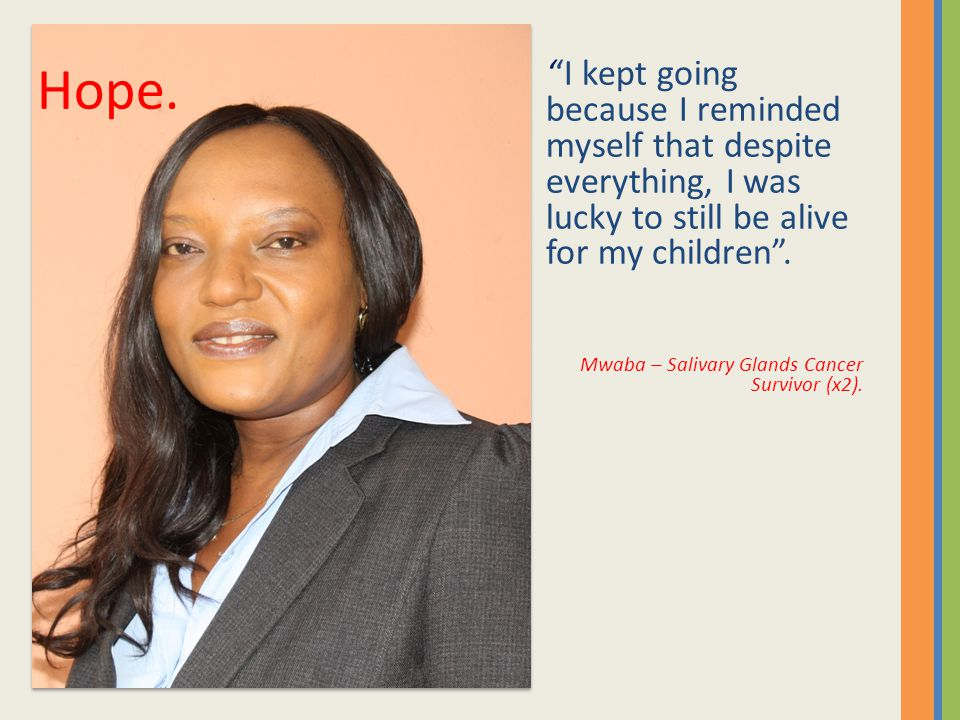 ''I kept going because I reminded myself that despite everything, I was lucky to still be alive for my children .