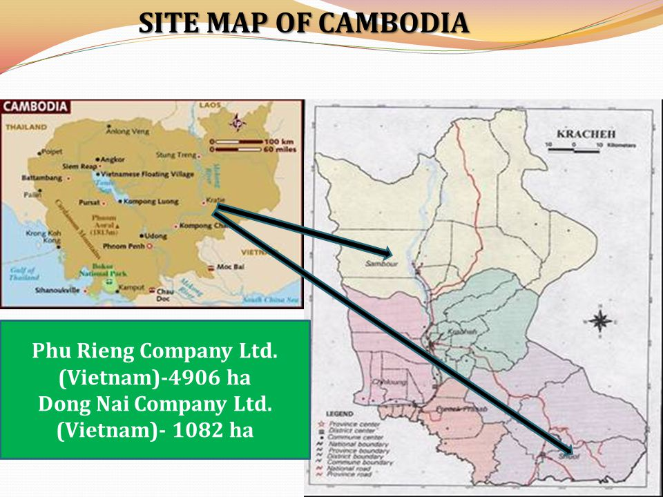 AND ACQUISITION PROCEDURES IN THE FOUR GMS COUNTRIES LAND ACQUISITION PROCEDURES IN THE FOUR GMS COUNTRIES CountriesLaosCambodiaThailandVietnam Ministries In- charge NLMA/ MAF/ MPI CDC/ MAFF/ MLMUPC BOI/ Ministry of Industry IPB/ Ministry of Planning & Investment ModalitiesELC and contract farming Lease Foreign equity in investment 100% foreign ownership allowed Only 49% foreign ownership allowed 100% foreign ownership allowed Environment certification Required Special specifications for foreign investors Min.