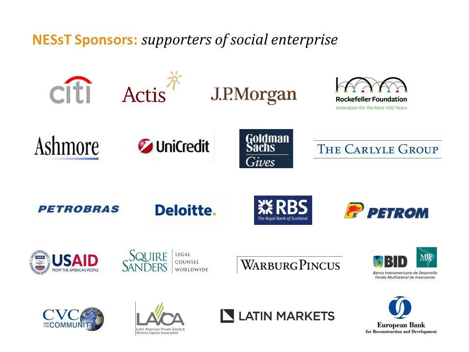NESsT Sponsors: supporters of social enterprise