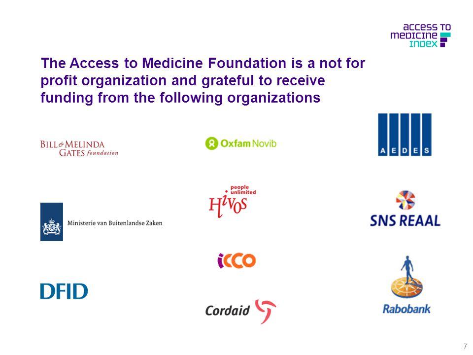 Access to Medicine Index 21 Septembre 2010 Bruxelles, Wim Leereveld Journées Thématiques Médicament
