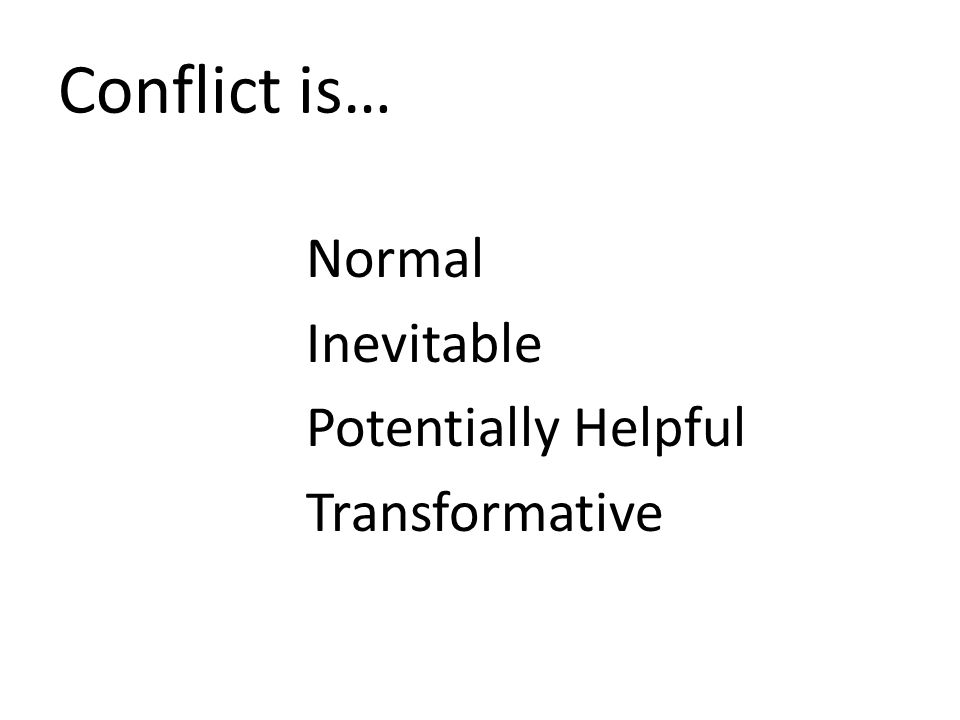 BELONGING TOGETHER Conflict and Culture Who are you in a conflict.
