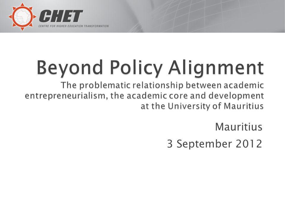 Mauritius 3 September 2012