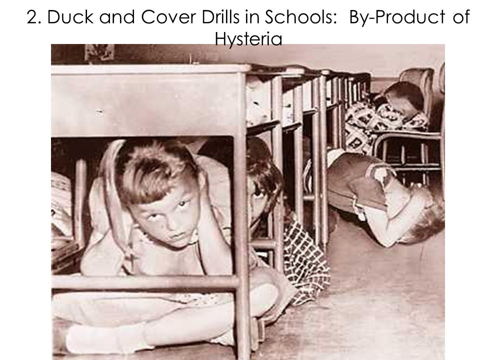 Duck and Cover Drills 2. Duck and Cover Drills in Schools: By-Product of Hysteria