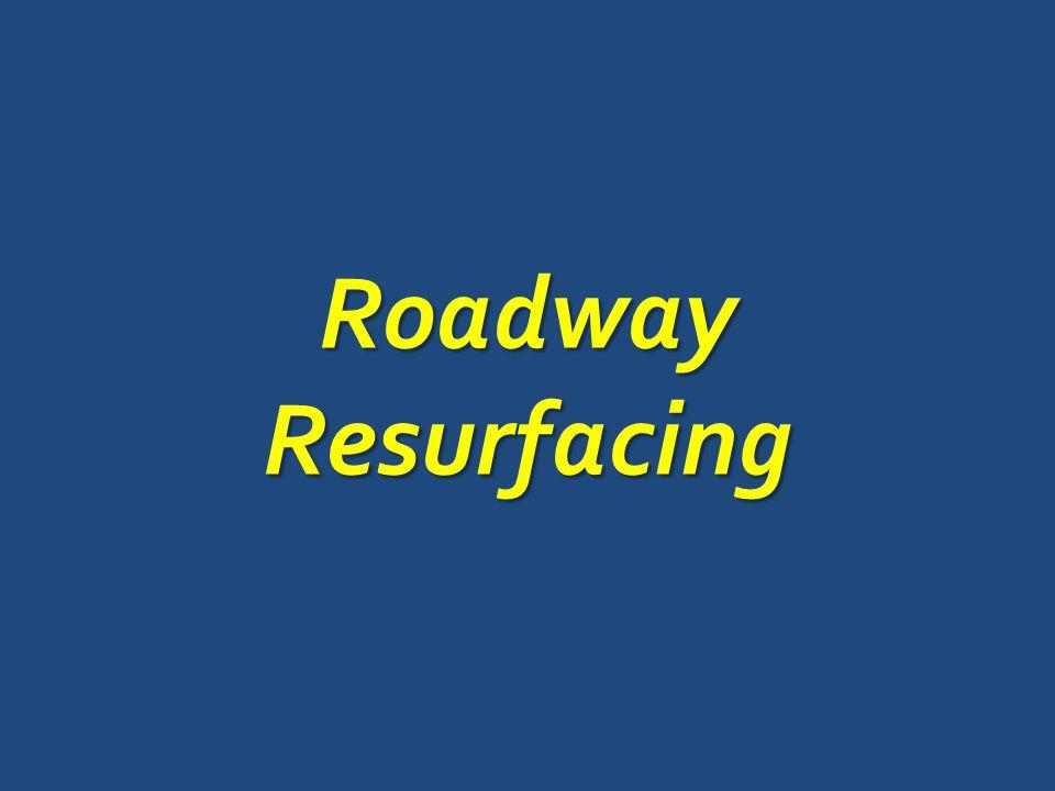 RoadwayResurfacing