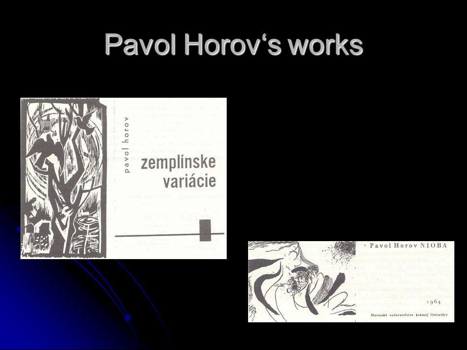 Pavol Horov's works