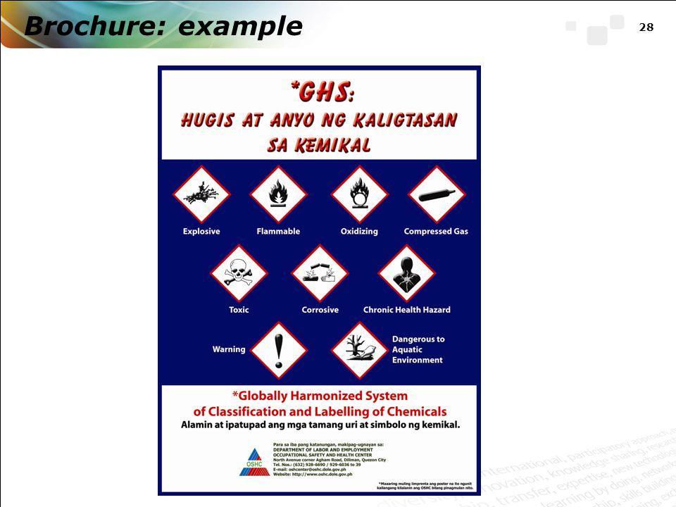 Brochure: example 28